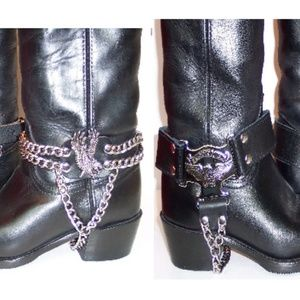 Other - Western Boot Harness Strapping & Chain Sets